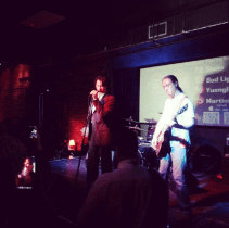 Lou Diamond Philips takes over the karaoke stage