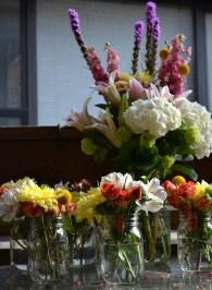 My lovely arrangements!