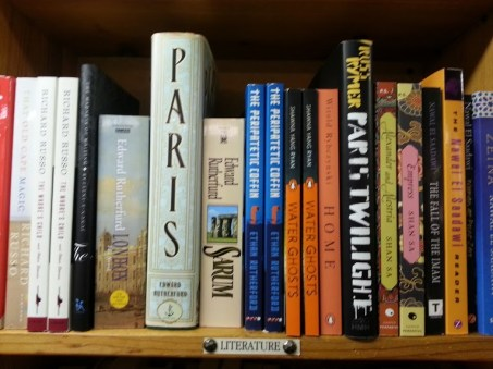 Sampling of the books at 57th Street Books