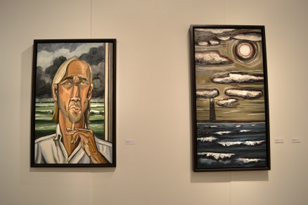 Paintings by David Bates