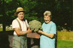Evelyn and Harry Guyette. Photo courtesy of the Franklin Land Trust
