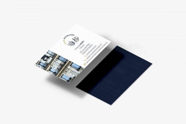 Syndic du colombier - carte de visite - Agathe Design Studio