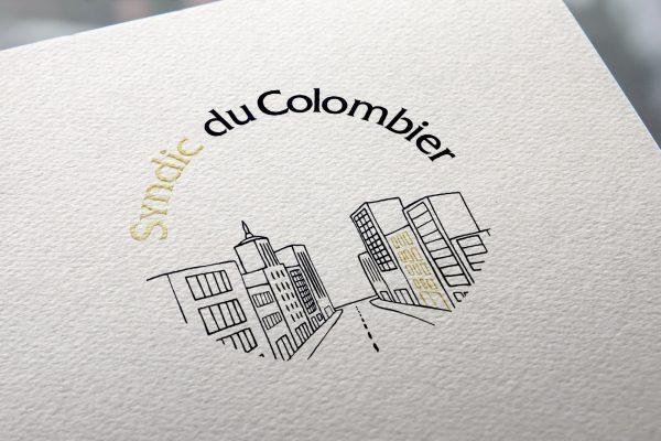 Syndic du colombier - logotype - Agathe Design Studio