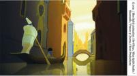 The painting about Venezia /Le tableau dans Venise