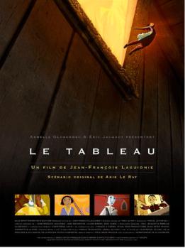 Movie Poster / Affiche du film Le tableau
