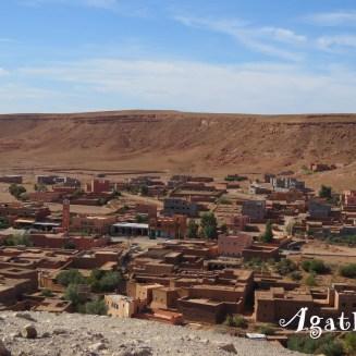 2019DE0172-Kasbah Ait Ben Haddou-Panorama village
