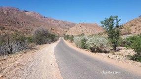 Sur la route entre Tafraout et Taroudant