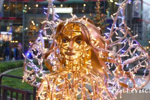 Berlin-Potsdamer Platz-Decos lumieres Noel