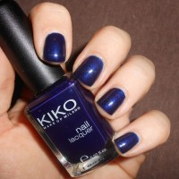 China Blue - le bleu nuit de Kiko