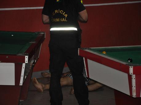 Banner Crime-Sinuca