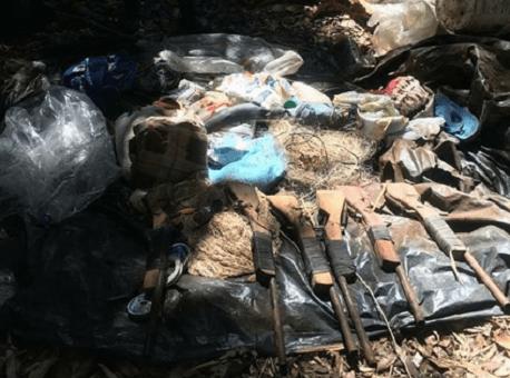 18-07-2020 Batalhão-Ambiental-encontra-acampamento-de-caçadores
