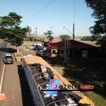 PRF de Quatro Pontes apreende caminhão carregado com cigarros