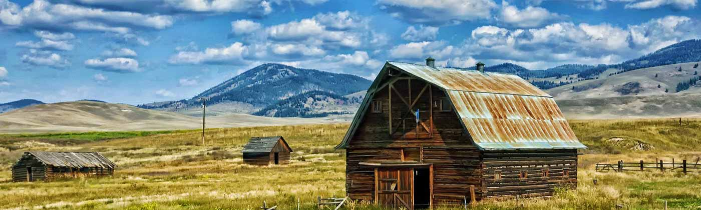 A ranch in Montana, USA