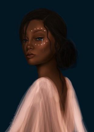 Ocean Eyes Fatima Krantz Agbowo Art
