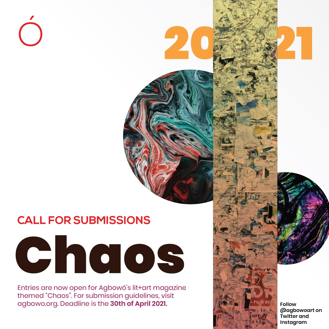 Agbowo Magazine 2021 | Chaos | African Art | Literary and Visual Art