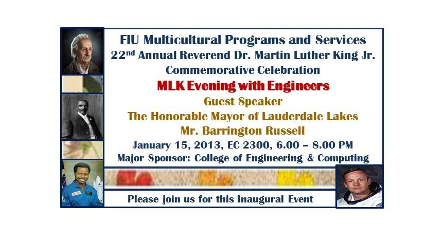 MLK Evening with Engineers