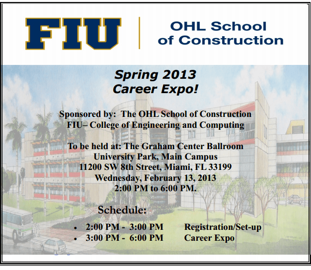 Spring 2013 Career Expo