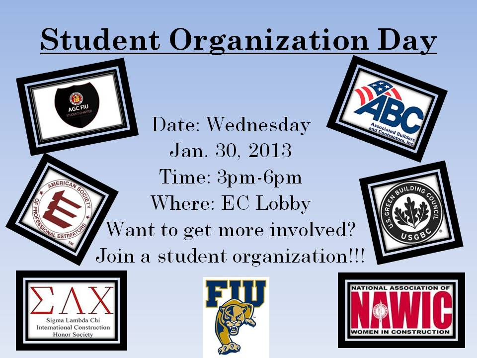 Student Organization's Day Flyer1