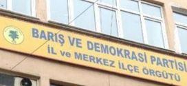 Maraş BDP İl Örgütü Binasına Girmeye Çalışan Irkçı Grup Dağıtıldı
