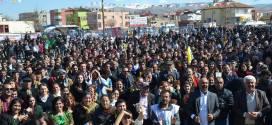 Elbistan`da Newroz Kutlandı