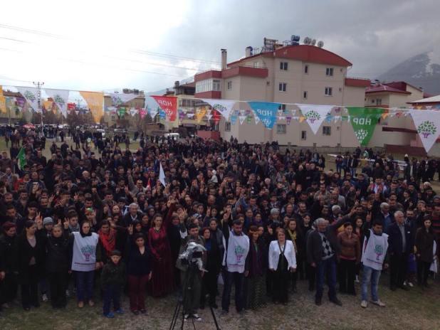 Elbistan'da Newroz Kutlaması Yapıldı 6