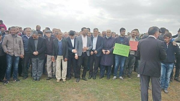 Maraş'ta Çadır Nöbeti 3'ncü gününe girdi
