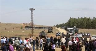 Maraş'taki Aleviler, kamp alanına yürüdü