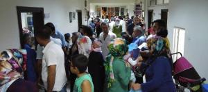 Elbistan'da binlerce kişi hastanelik oldu