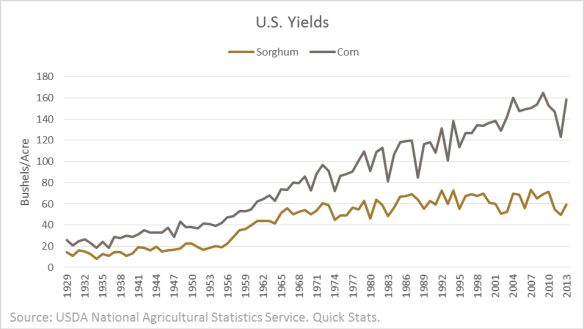 Sorghum Yields. 1