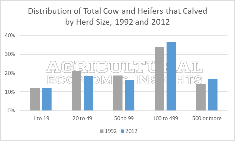 Size of Beef Operations. Ag Trends. Agricultural Economic Insights