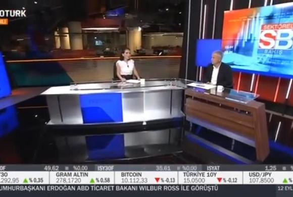 Başkanımız Mustafa Saral EkoTürk TV'ye Konuk Oldu