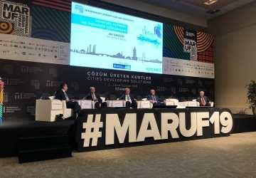 Marmara Urban Forum' da geleceğin şehirlerinde sürdürülebilir yönetimi konuşuyoruz.