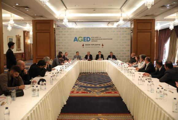 Atık Kâğıtta Ek Maliyetler Konulu Basın Toplantısı Düzenlendi.