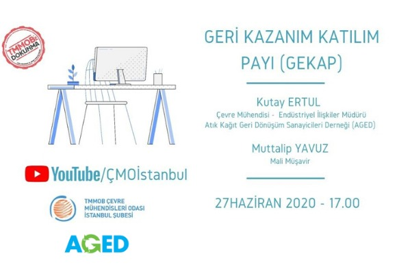 TMMOB ÇMO İstanbul – GEKAP Online Söyleyişi