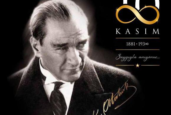 Cumhuriyetimizin kurusucusu Ulu Önder Mustafa Kemal Atatürk'ü, aramızdan ayrılışının 82. yılında sevgi, saygı ve minnetle anıyoruz.🇹🇷