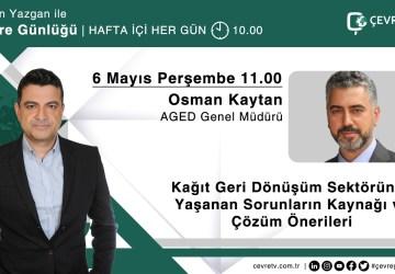 Osman Kaytan Çevre TV'de Sektörel Sorunları Anlattı