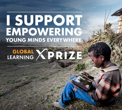 Global Learning XPRIZE – Reading, Writing, & Numeracy Campaign