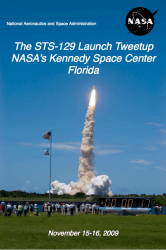 STS-129 Launch Tweetup Program (PDF)