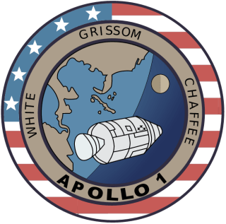 Apollo 1 mission patch