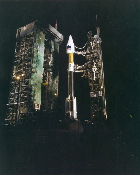 SOHO was launched by an Atlas II-AS (AC-121) from Cape Canaveral Air Station on December 2, 1995, at 08:08 UT.