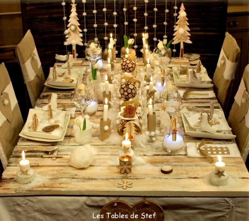 Decoration Table Noel Simple