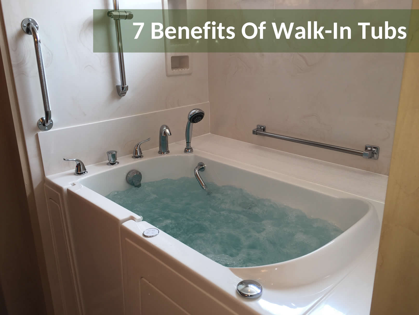 7 Benefits Of Walk In Tubs Aging In Place