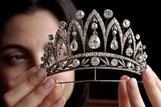 Antique Tiara via Getty Images