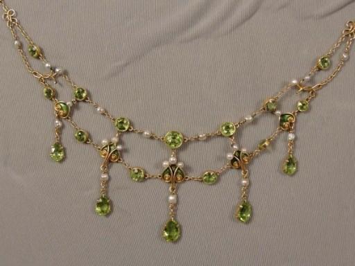 Antique Festoon Necklace