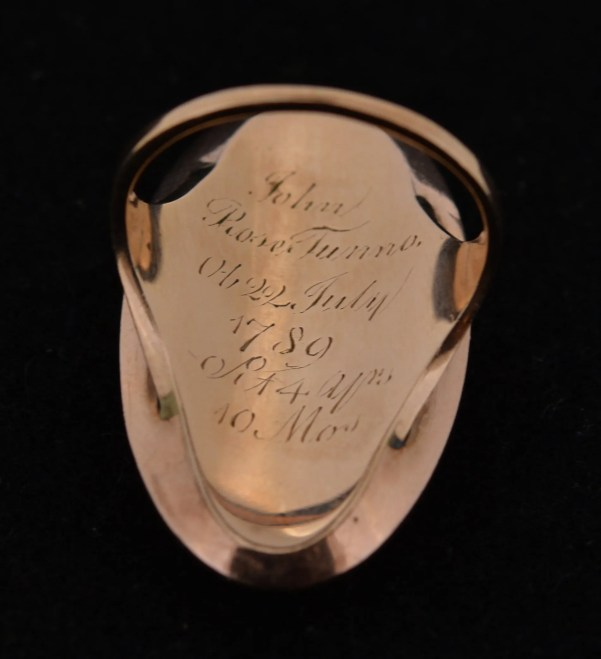 Antique Memorial Ring