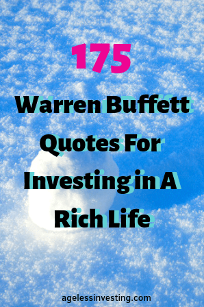 175 Warren Buffett Quotes On Life and Investing