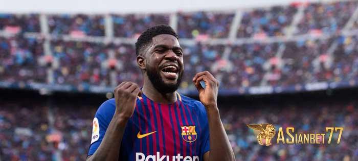 Peringatan Barcelona Untuk Man United terkait Samuel Umtiti - Sabung Ayam Online