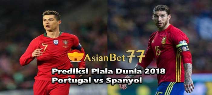 Prediksi Piala Dunia 2018 Portugal vs Spanyol - Agen Bola Piala Dunia 2018