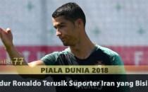Tidur Ronaldo Terusik Suporter Iran yang Bising Agen Bola Piala Dunia 2018
