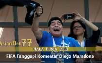 FIFA Kecam Sikap Tak Terpuji Diego Maradona - Agen Bola Piala Dunia 2018
